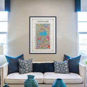 Central Park collectable poster